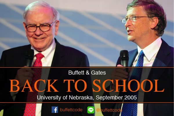 Buffett & Gates - Back to School